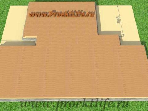 Нижняя обвязка каркасного дома по типу плита
