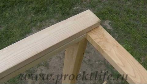 Как построить дом своими руками-верхняя обвязка
