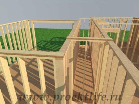 Как построить дом-верхняя обвязка каркасного дома своими руками