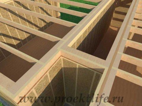 Перекрытие второго этажа|Как построить каркасный дом своими руками междуэтажное перекрытие