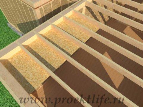Перекрытие второго этажа|Как построить каркасный дом междуэтажное перекрытие потолок