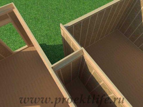 Перекрытие второго этажа|Как построить дом своими силами