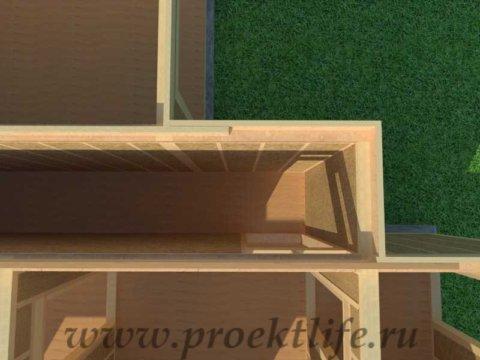 Перекрытие второго этажа|Как построить дом строим сами