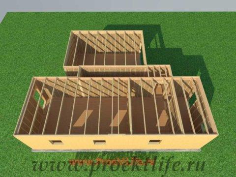 Перекрытие второго этажа|Как построить дом