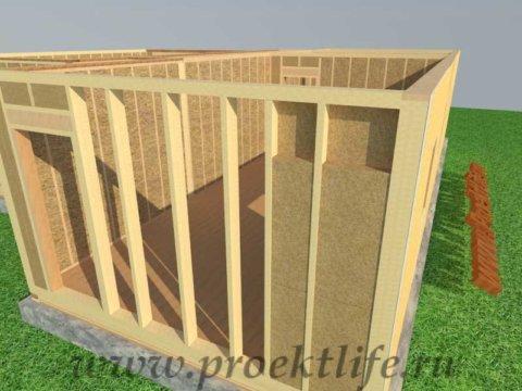 Как построить каркасный дом-утепление каркасного дома своими руками