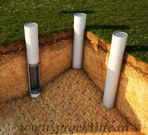 Виды фундаментов столбчатый фундамент
