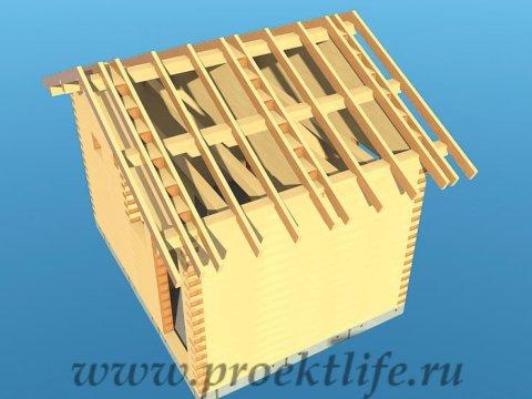 10---Банька-из-бруса-стропильная-система