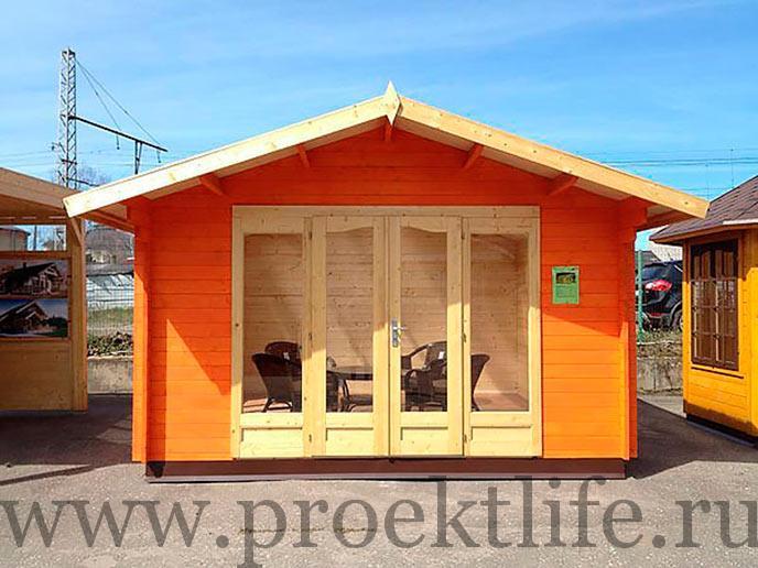 оранжевый домик комфорт лайт