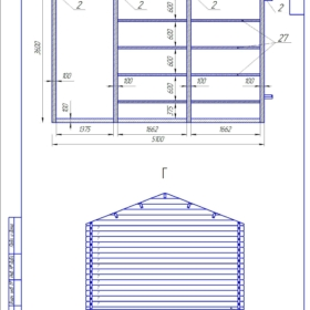 Рабочий проект дачного дома Комфорт