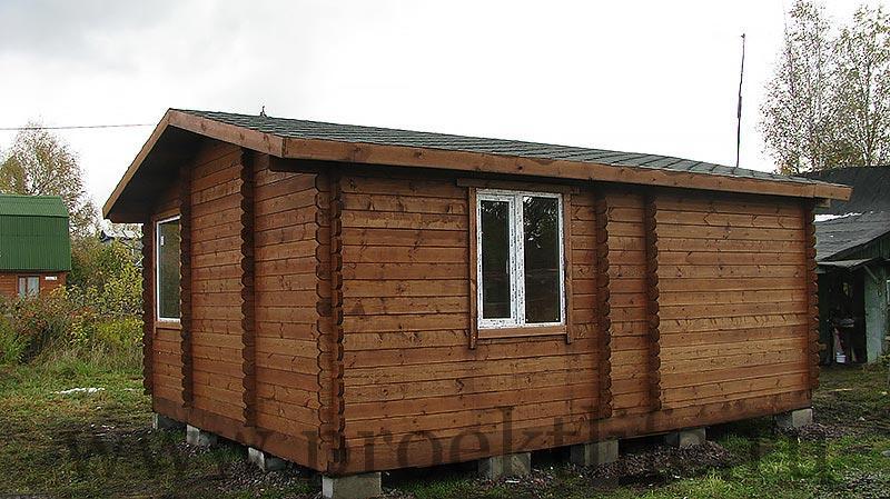 Строительство дачного домика Адажио 3