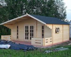 """Садовый домик из бруса 45 мм """"Комфорт‑5"""""""