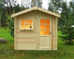 """Садовый домик из мини-бруса 45 мм """"Мини"""""""