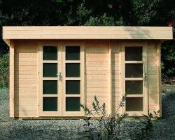 """Уютный садовый домик из бруса 45 мм """"Модерн‑2"""""""
