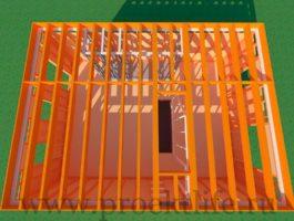 каркасный дом - Каркасный дом - технология строительства - 1 8 265x200