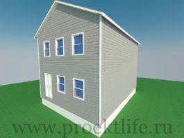 каркасный дом - Каркасный дом - технология строительства - 12 1 265x200