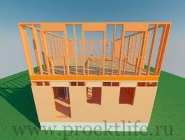 каркасный дом - Каркасный дом - технология строительства - 3 9 265x200