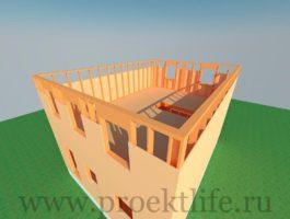 каркасный дом - Каркасный дом - технология строительства - 5 7 265x200