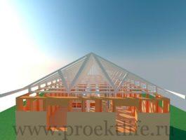каркасный дом - Каркасный дом - технология строительства - 7 7 265x200