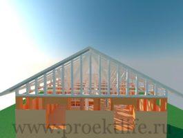 каркасный дом - Каркасный дом - технология строительства - 8 4 265x200