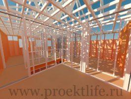 каркасный дом - Каркасный дом - технология строительства - 9 4 265x200