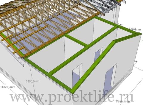 крыша - Как сделать крышу на пристройке к дому - 1 10 480x353