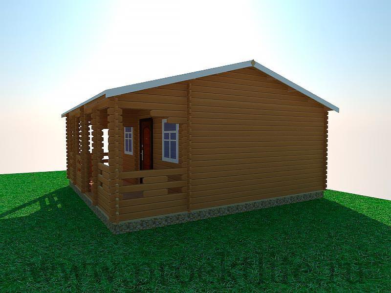 домокомплект дома из бруса конструктор
