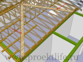 крыша - Как сделать крышу на пристройке к дому - 2 9 265x200