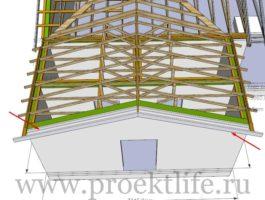 крыша - Как сделать крышу на пристройке к дому - 5 10 265x200