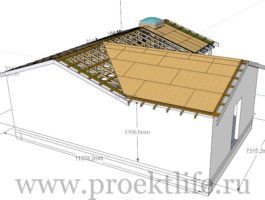 крыша - Как сделать крышу на пристройке к дому - 9 5 265x200