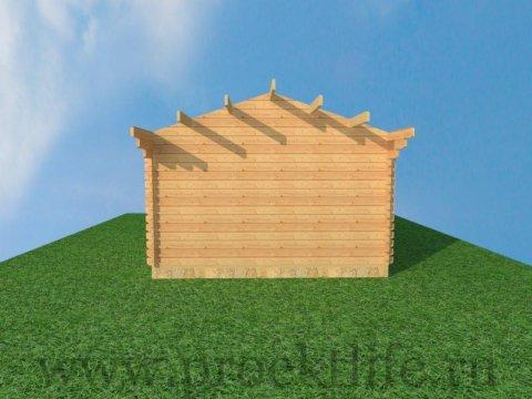 домокомплект бани из бруса уфа