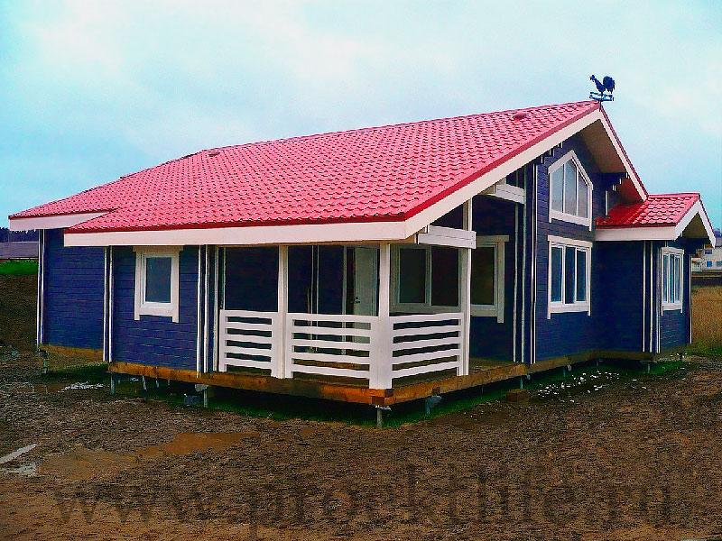 Деревянный дом из двойного бруса Аллегро
