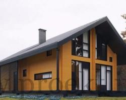 """Проекты деревянных домов из бруса под """"ключ"""""""