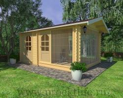 Вольер для собаки для дома 3×4,5 m