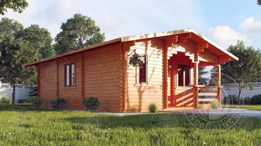 Дачный дом из бруса Альмерия