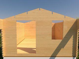 фронтоны дачного домика