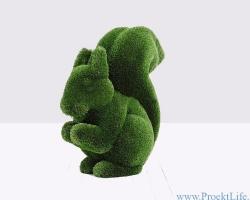 Садовая скульптура – Белка