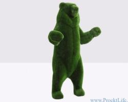 Садовая скульптура – Большой медведь