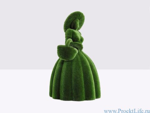 Садовая скульптура - Девушка с корзиной