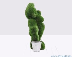 Садовая скульптура топиари – Гном