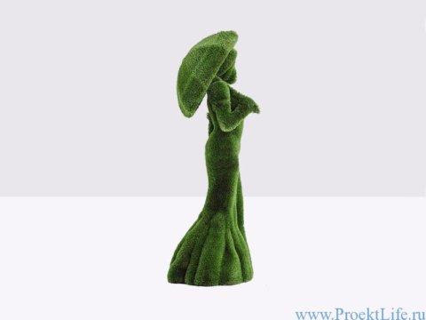 Садовая фигура - Девушка с зонтом