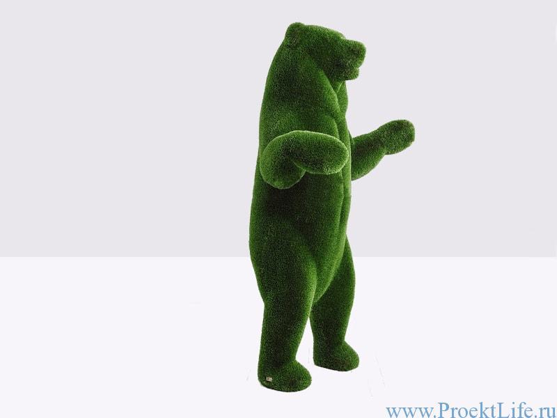 Садовая фигура - Большой медведь