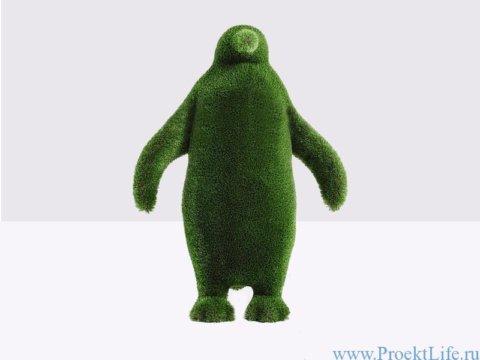 Садовая фигура - Пингвин