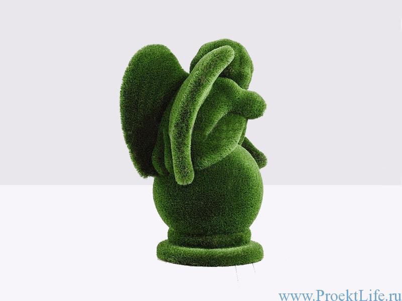 Садовая скульптура топиари - Ангел