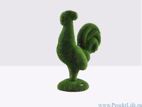 Садовая фигура - Петух