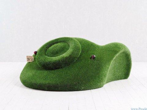 топиари - машинка диван