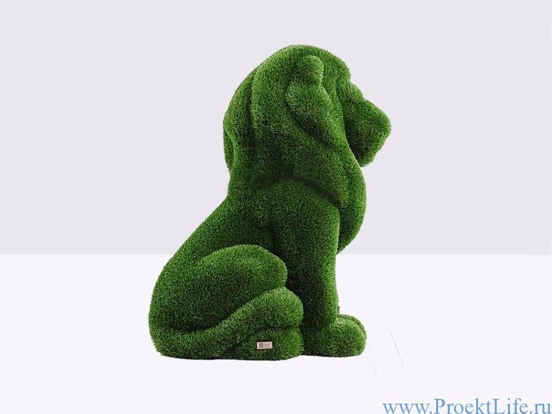 Садовая скульптура - Львёнок