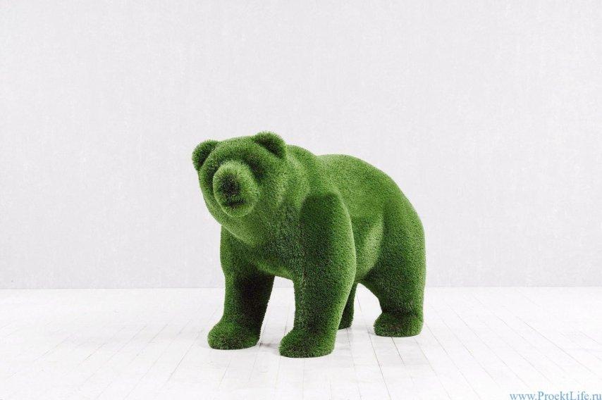Садовая скульптура - Медведь