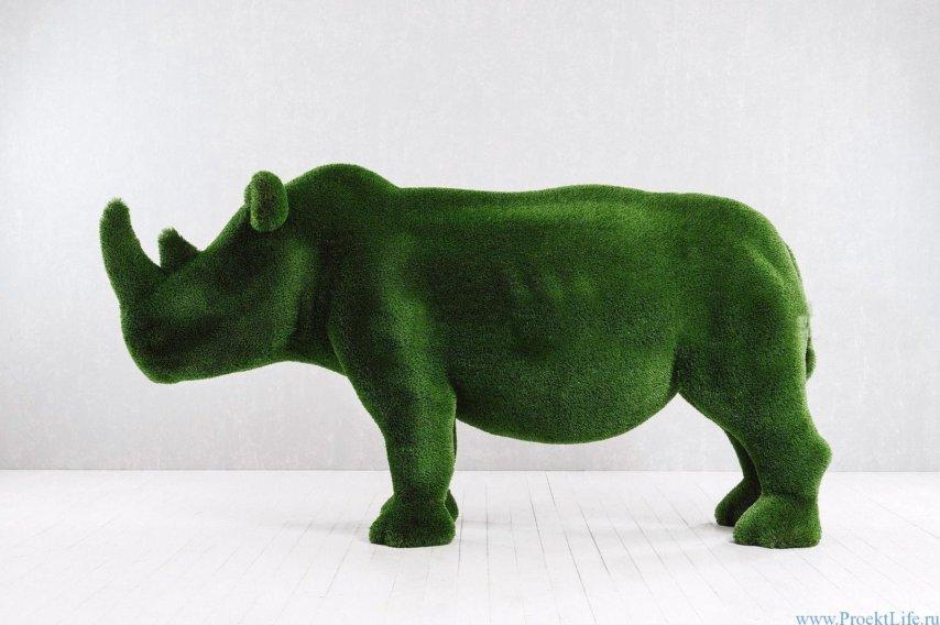 Топиари - Носорог