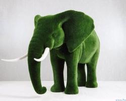 Топиарий – Большой слон