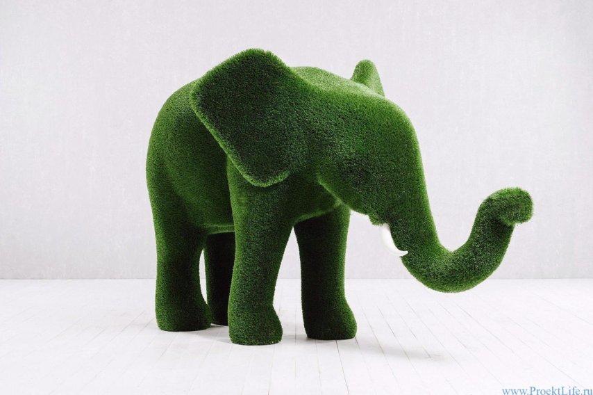 Топиарий - Слонёнок